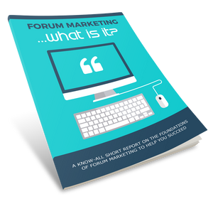 Forum Marketing Influence eBook