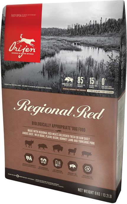 ORIJEN Regional Red Premium Dog Food