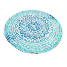 Round Mandala Beach Towels or Yoga Mat - Boho Beach Queen