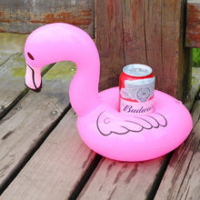 Inflatable Pink Swan Drink Holder - Boho Beach Queen
