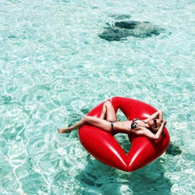 Inflatable Lips Pool Float - Boho Beach Queen