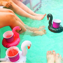 Inflatable Swan Drink Holder - Boho Beach Queen