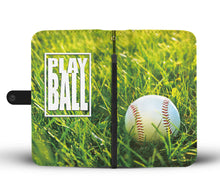 """Play Ball"" Baseball Wallet Case - Honeybee's Tees"