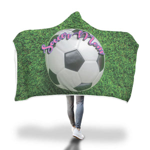 Soccer Mom Hooded Blanket - Honeybee's Tees