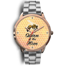 Queen of the Hive Watch - Rose Gold - Honeybee's Tees