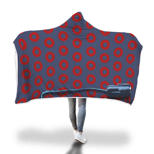 Muumuu Electrolux Hooded Blanket - Honeybee's Tees