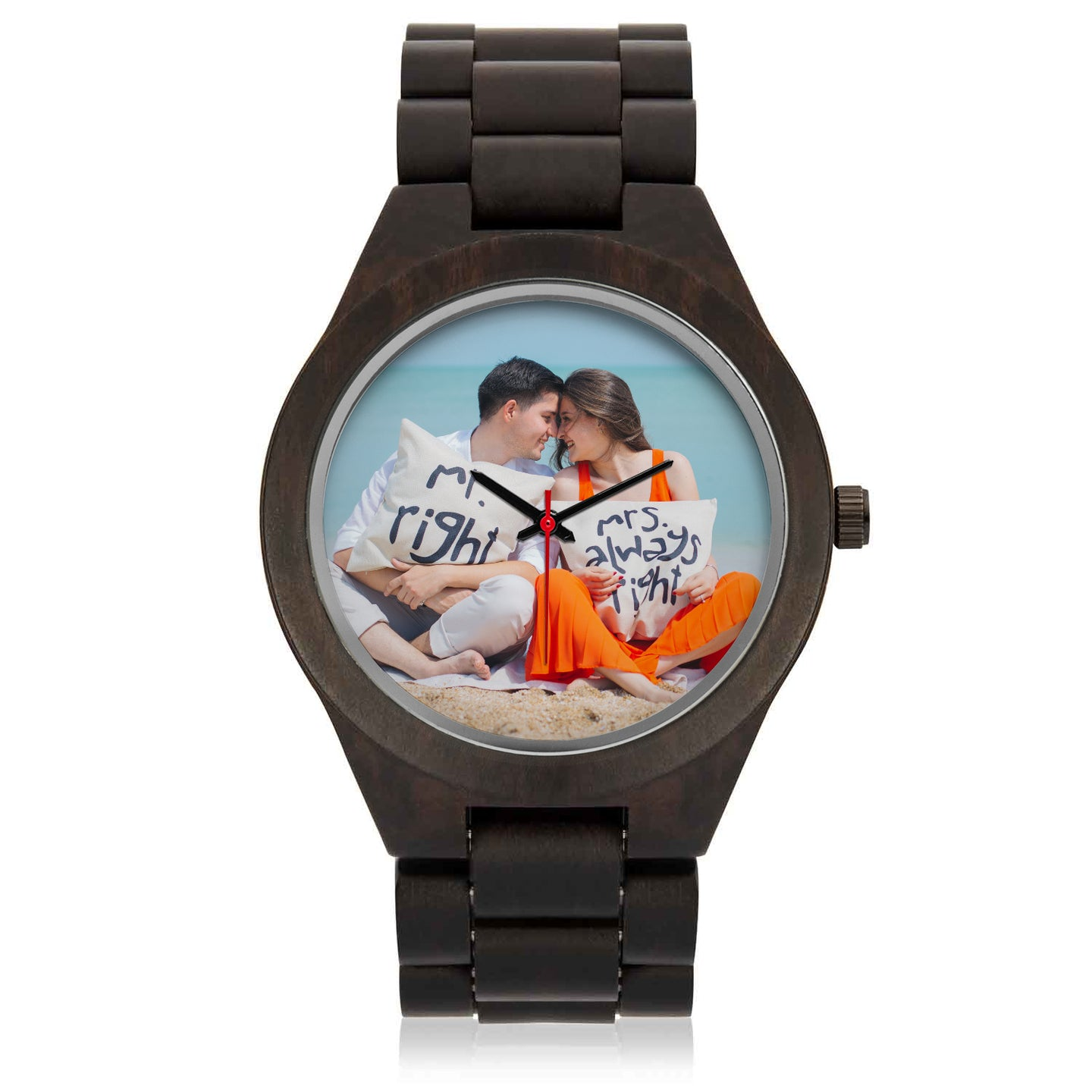 Personalized Wood Watch - Honeybee's Tees