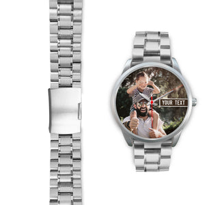 Personalize Watch - Silver - Honeybee's Tees