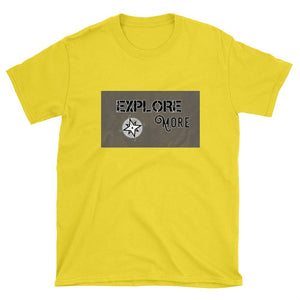 """Explore More"" Custom Unisex T-Shirt - Honeybee's Tees"