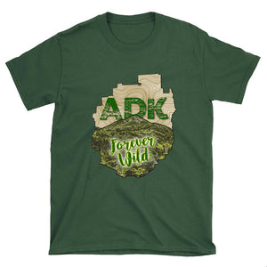 ADK Forever Wild Mt.Marcy T-shirt - Honeybee's Tees