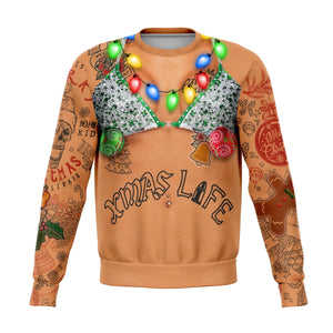 Bikini Holiday Tats Sweatshirt - Honeybee's Tees