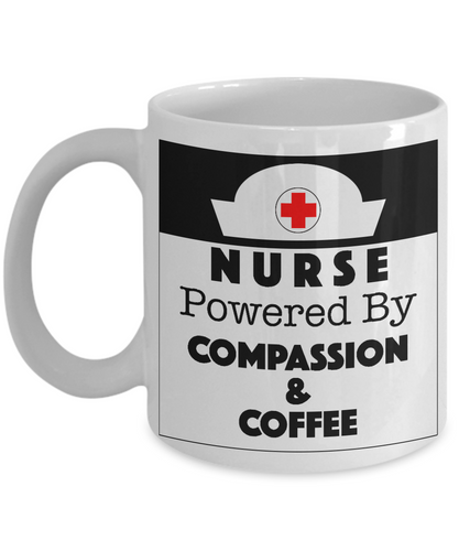 NURSE Compassion and Coffee - Honeybee's Tees
