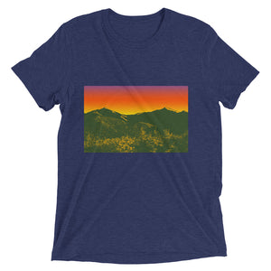 Retro Adirondack Mountain Short sleeve t-shirt - Honeybee's Tees