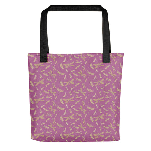 Pink Dragonfly Tote bag - Honeybee's Tees