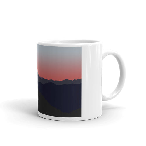 Grace Peak print mug - Honeybee's Tees