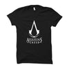 Image of Assassin's Creed Logo -Half Sleeve Black
