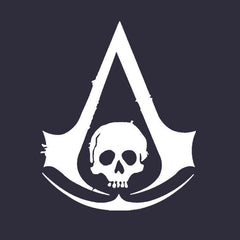 Assassin's Creed Black Flag Logo-Blue Hoodie