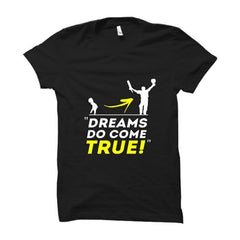 CRIC 12- Dream Do Come True -Half Sleeve-Black
