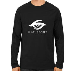 Team Secret- Black Full Sleeve