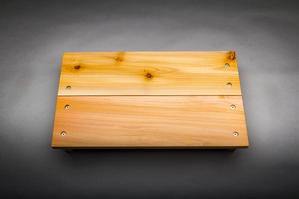 "Wooden Laptop Keyboard Cover - 13"" MacBook Pro - Cedar"