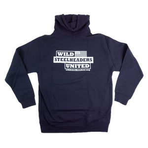 Wild Steelheaders Logo Hooded Sweatshirt