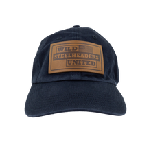 Winter Run Hat - Navy with suede patch