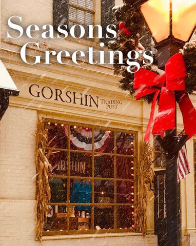 Christmas in Haddonfield New Jersey at Gorshin Trading Post