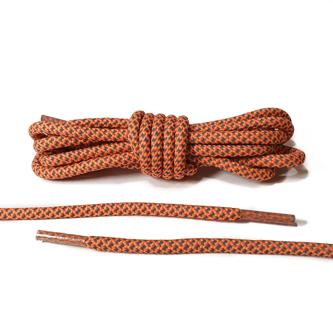 Light Orange 3M Reflective Rope Laces
