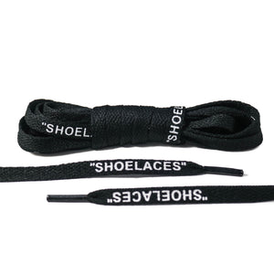 "Black ""Shoelaces"""