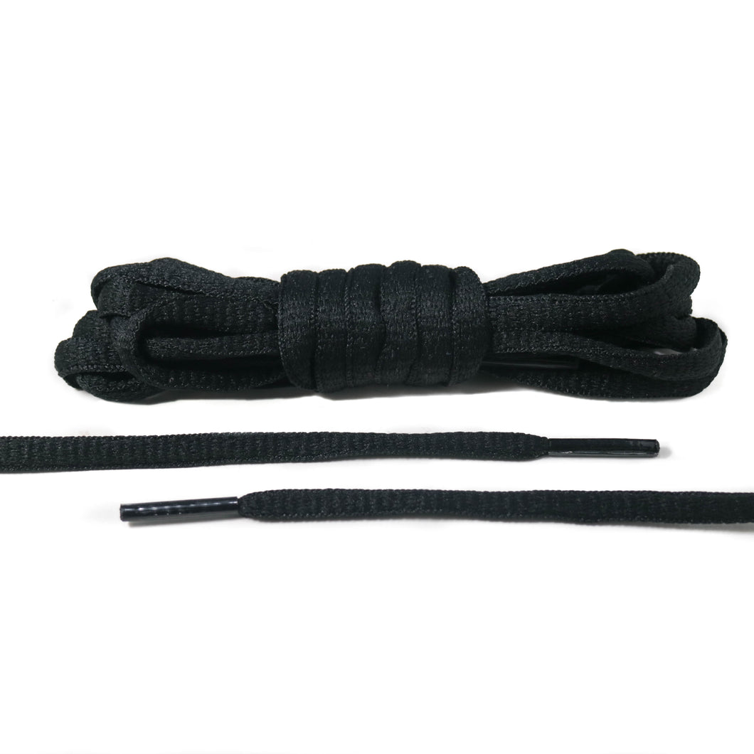 Black Oval Laces