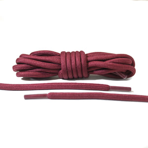 Burgundy Rope Laces
