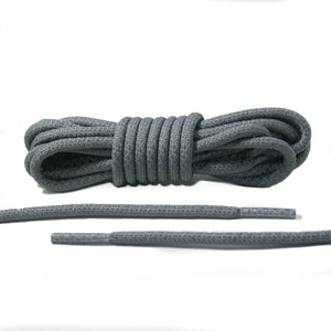 Gray 3M Reflective Rope Laces