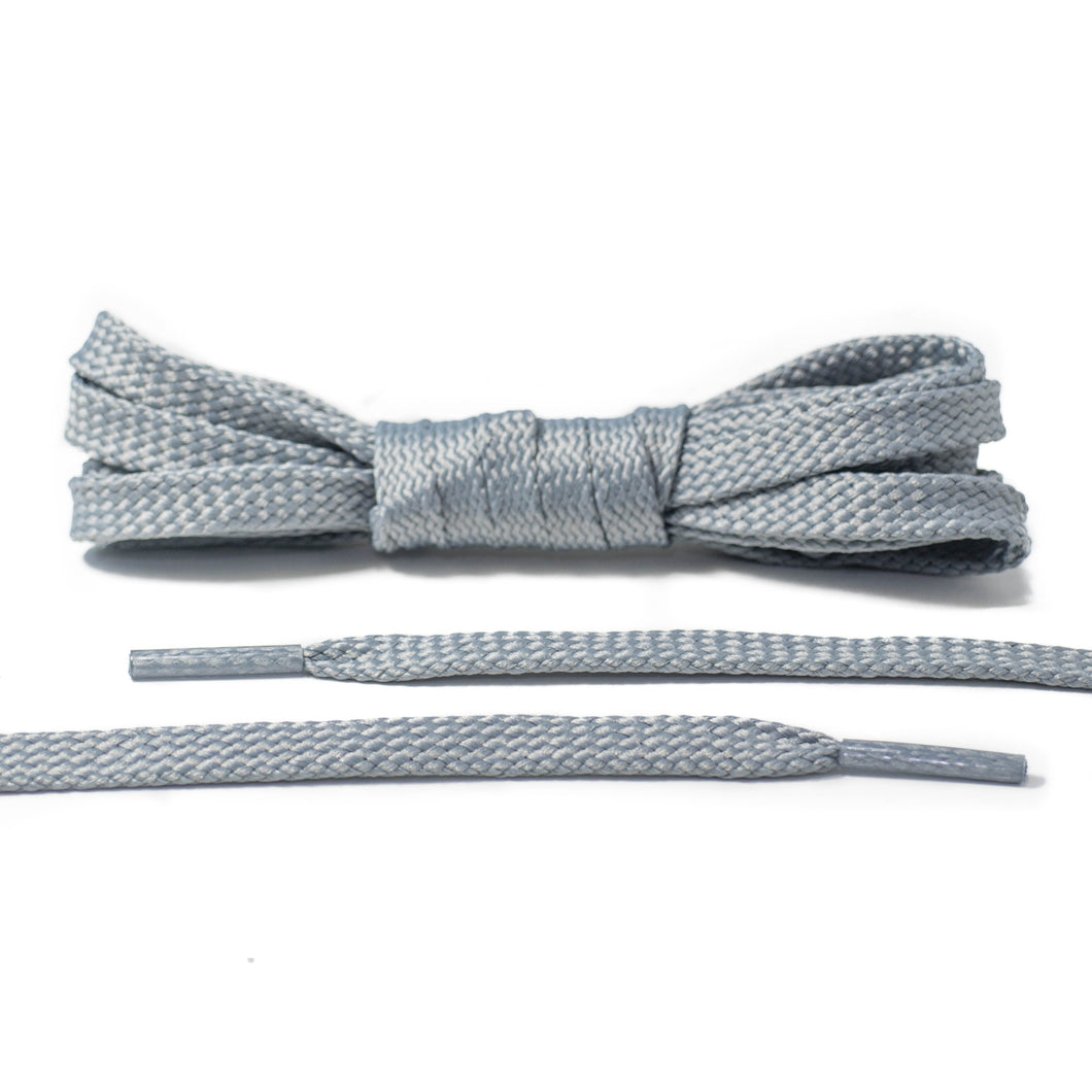Gray Flat Laces - Classic