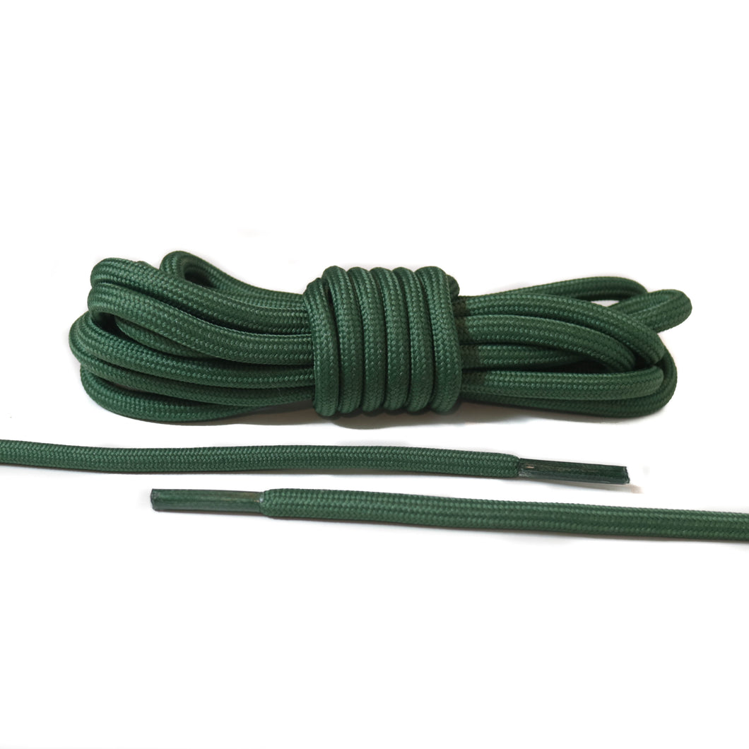 Green Rope Laces