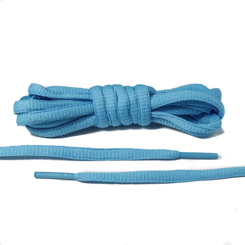Light Blue Oval Laces