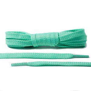 Mint Green Flat Laces - Classic