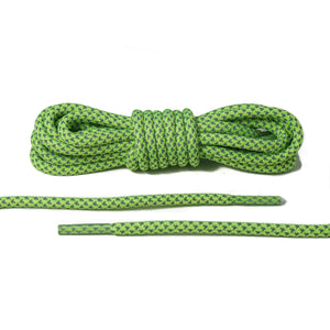 Neon Green Reflective Rope Laces 2.0