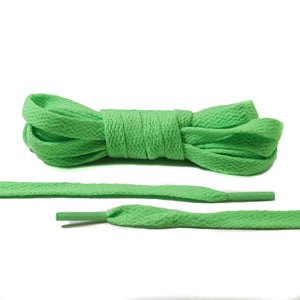 Neon Green Flat Laces