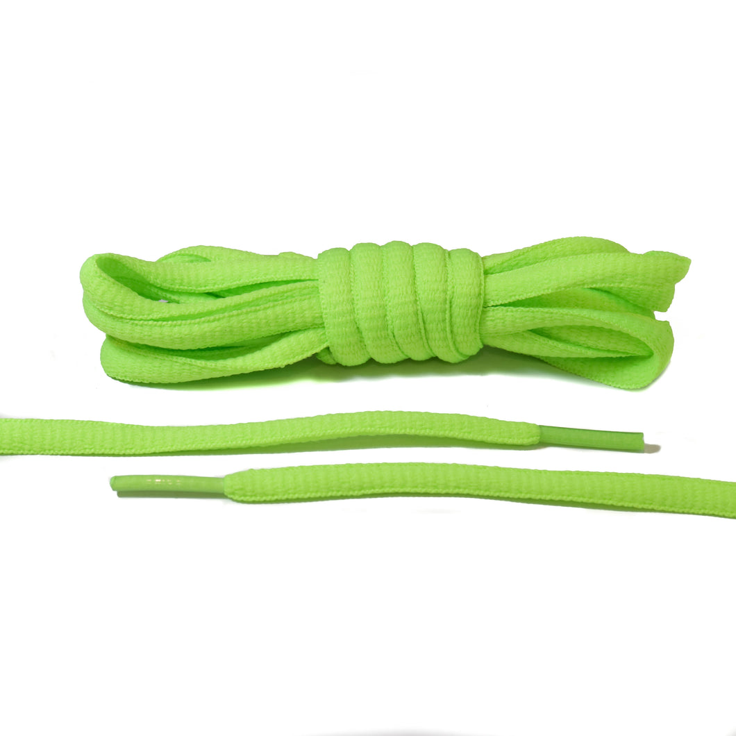 Neon Yellow Oval Laces