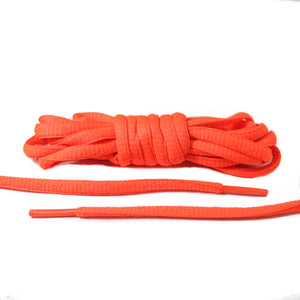 Orange Oval Laces