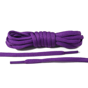 Purple Oval Laces