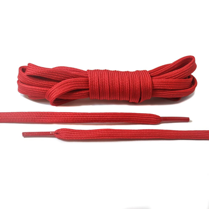 Red Flat Laces - Basic