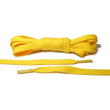 Yellow Flat Laces - Thin