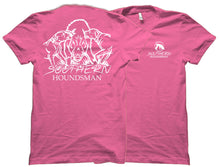 Double Hog Dog White Ink Southern Houndsman Shirt