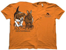 Beagle Chasing Rabbit Southern Houndsman Outdoorsman Shirt