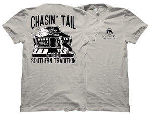 Deer on Dogbox True Southern Tradition Southern Houndsman T-Shirt