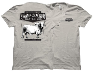 Brahman Bull Swamp Cracker Cattle Company Shirt
