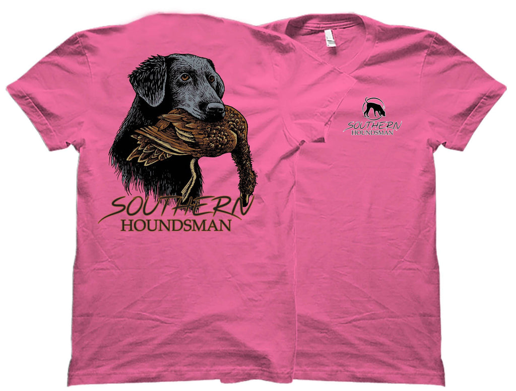 Lab with Wood Duck Southern Houndsman T-Shirt