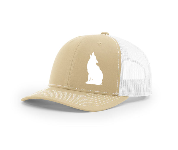 Coyote Howling Swamp Cracker Snapback Hat