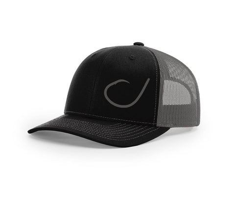 Circle Hook Salty and Swamp Cracker Snapback Hat